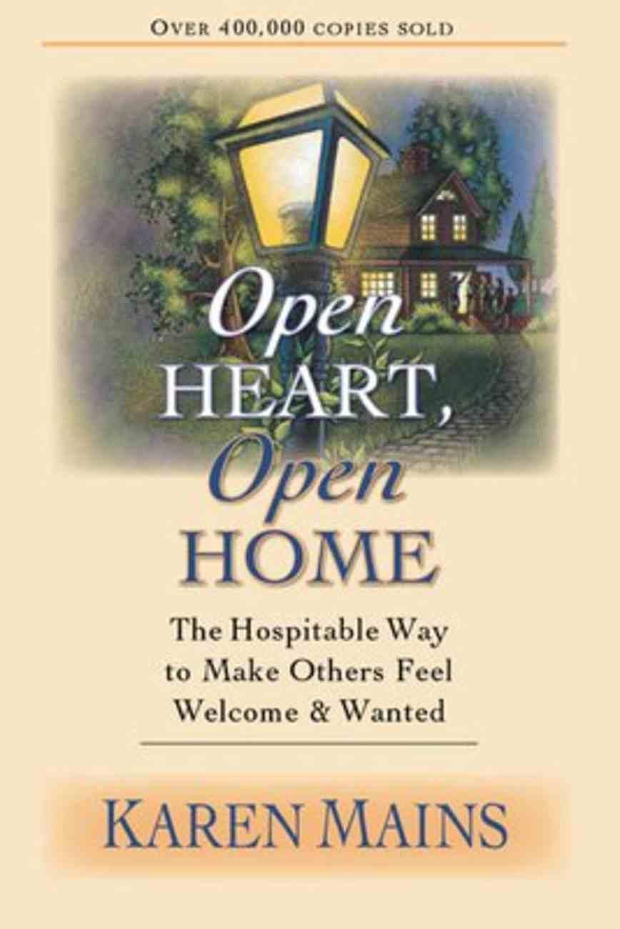 Open Heart, Open Home Paperback