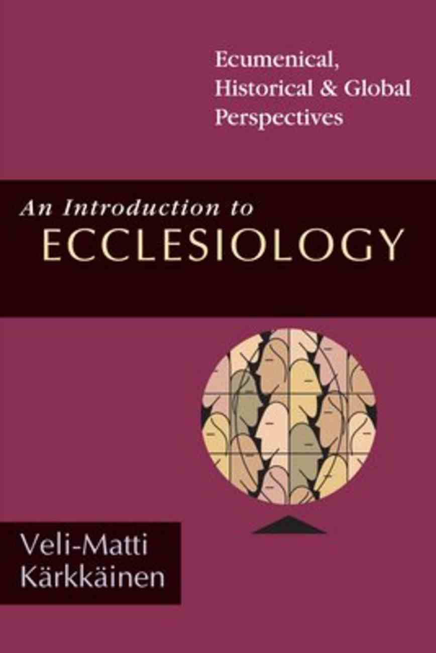 An Introduction to Ecclesiology Paperback