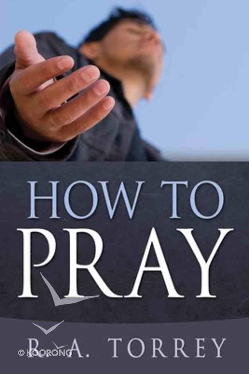 How to Pray Mass Market