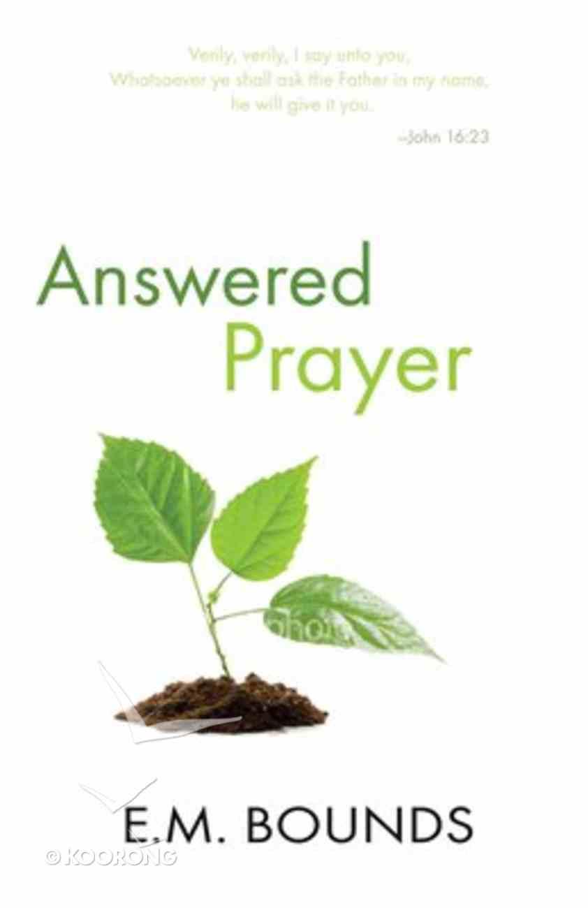 Answered Prayer Paperback