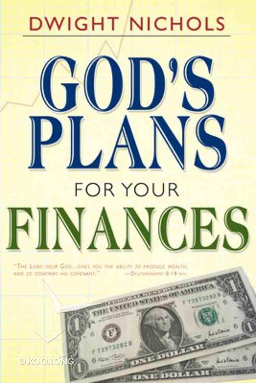 God's Plans For Your Finances Paperback