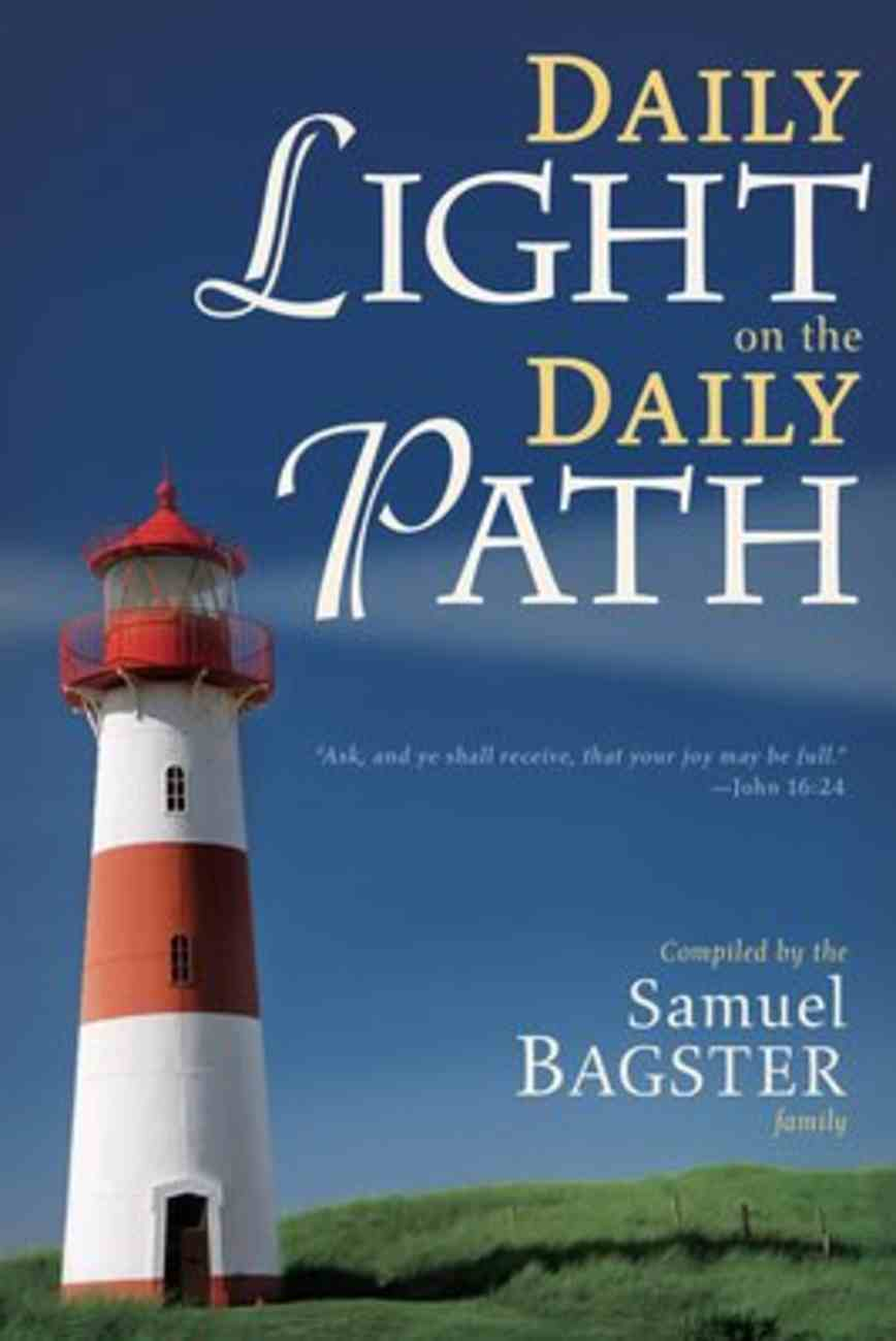 Daily Light on the Daily Path Paperback