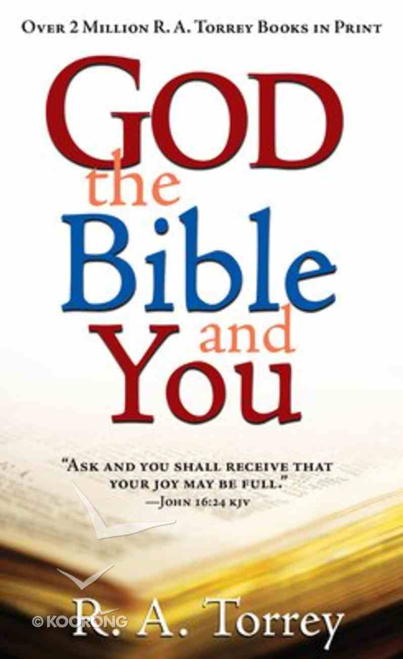 God the Bible and You Paperback