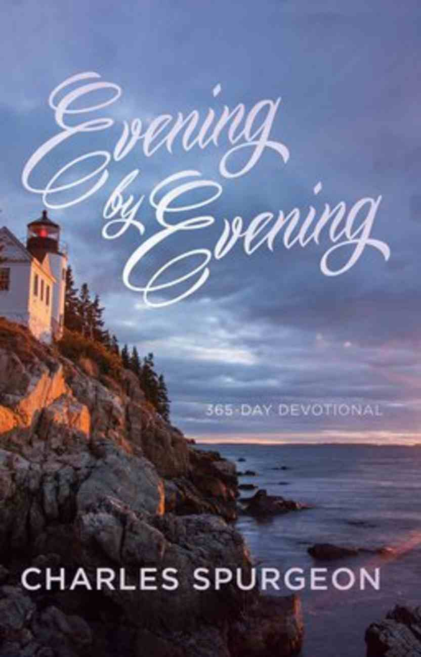 Evening By Evening (Ed) Paperback