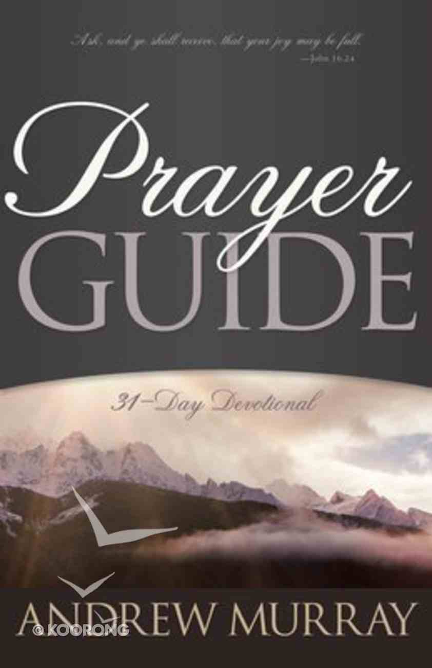 Prayer Guide Paperback