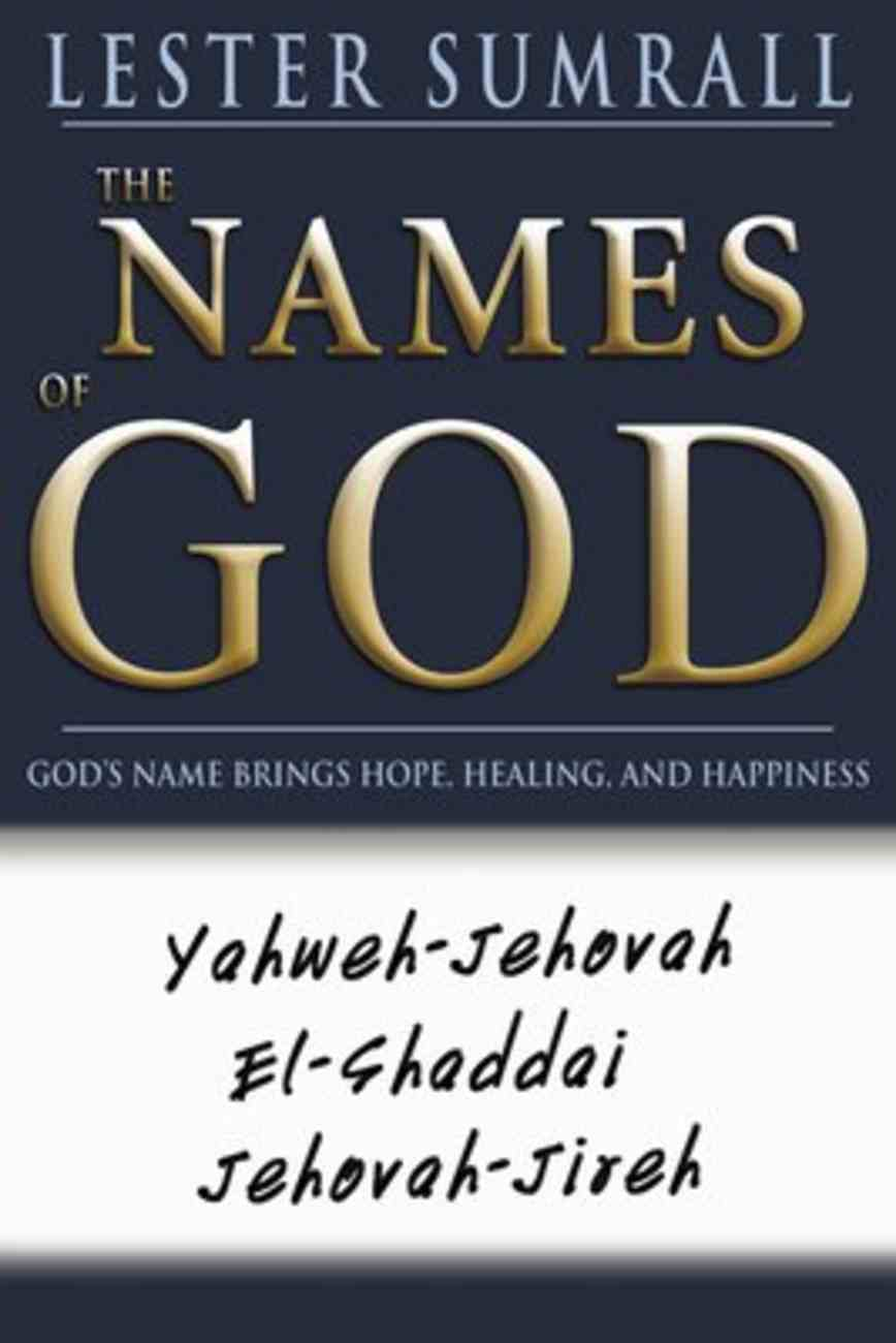 The Names of God Paperback