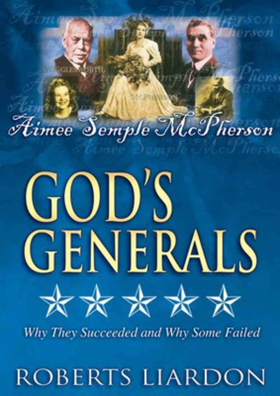 Aimee Semple Mcpherson (#07 in God's Generals Visual Series) DVD