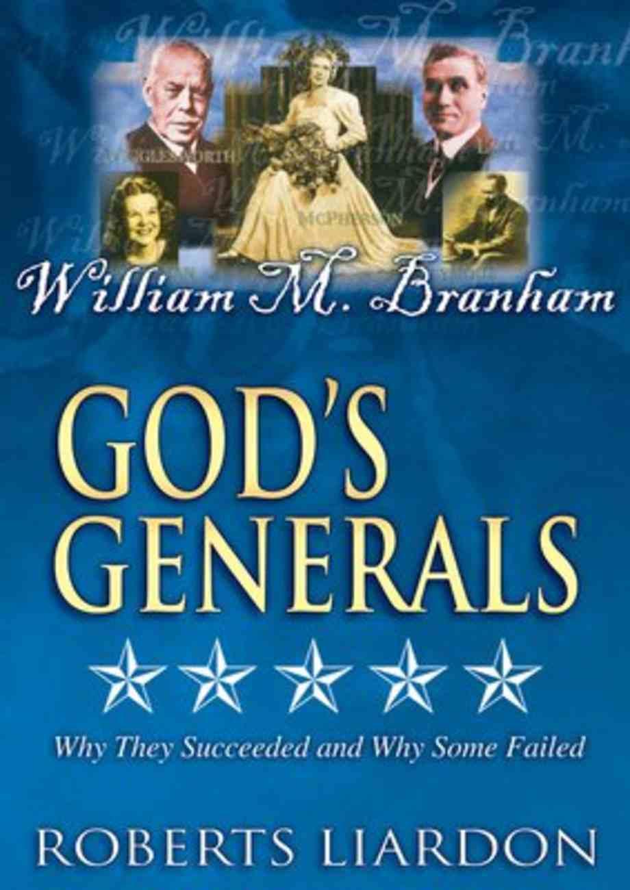 William M. Branham (#08 in God's Generals Visual Series) DVD