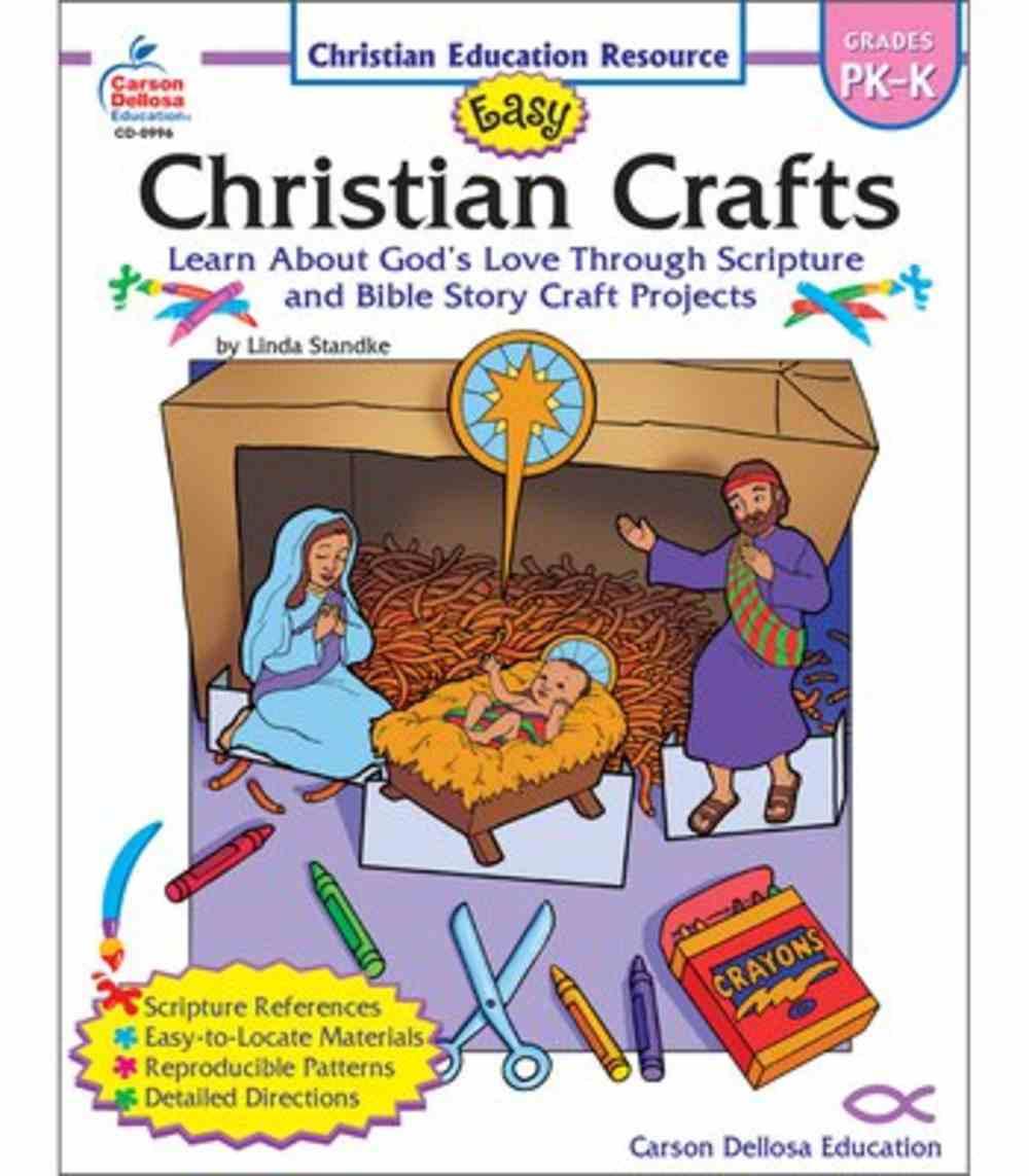 Easy Christian Crafts Reproducible (Grades Pk-k) Paperback