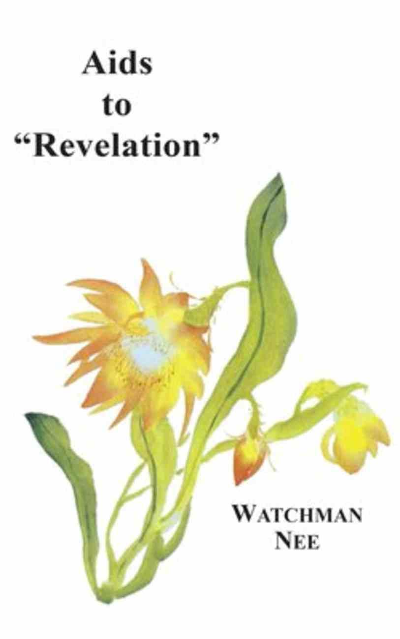 Aids to Revelation Paperback