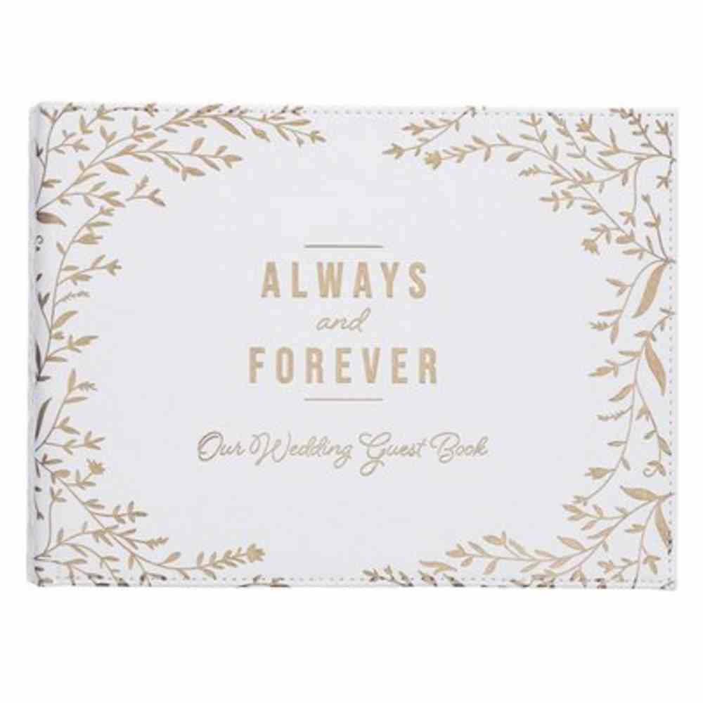 Guest Book: Always & Forever Imitation Leather
