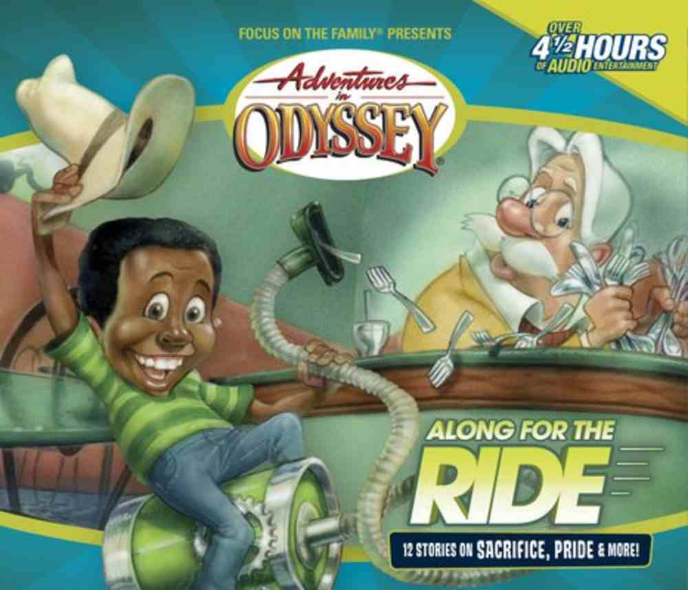 Along For the Ride (#43 in Adventures In Odyssey Audio Series) CD