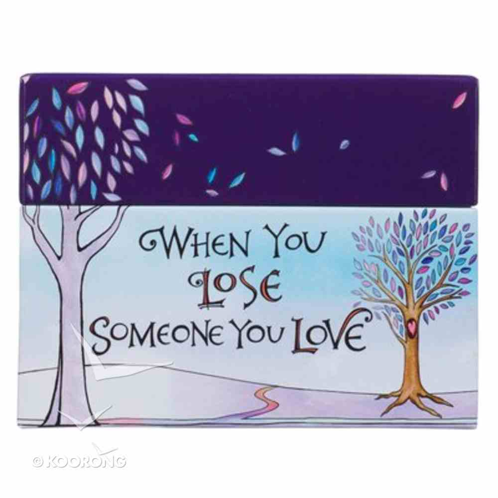 Boxed Cards to Color and Comfort: When You Lose Someone You Love Box