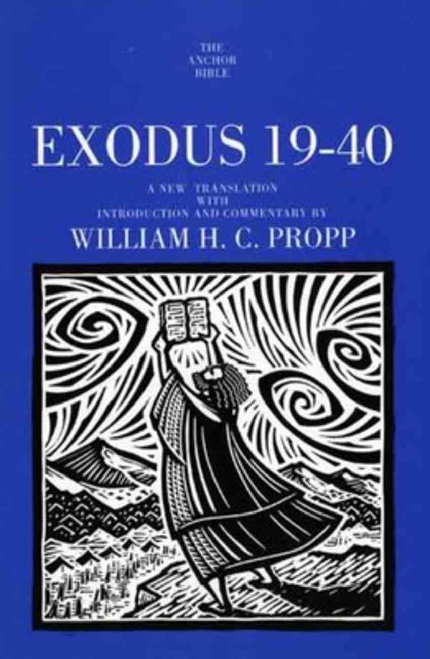Exodus 19-40 (Anchor Yale Bible Commentaries Series) Hardback