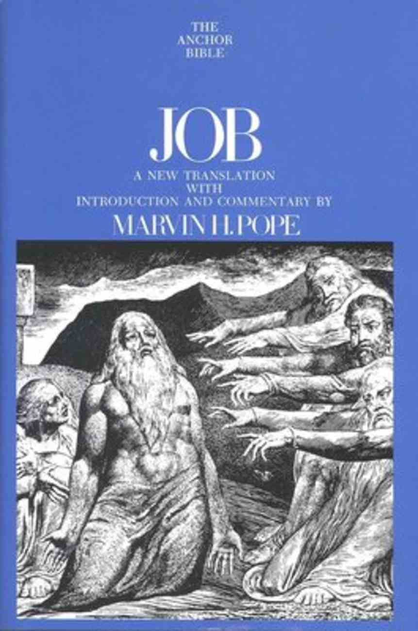 Job (Anchor Yale Bible Commentaries Series) Hardback