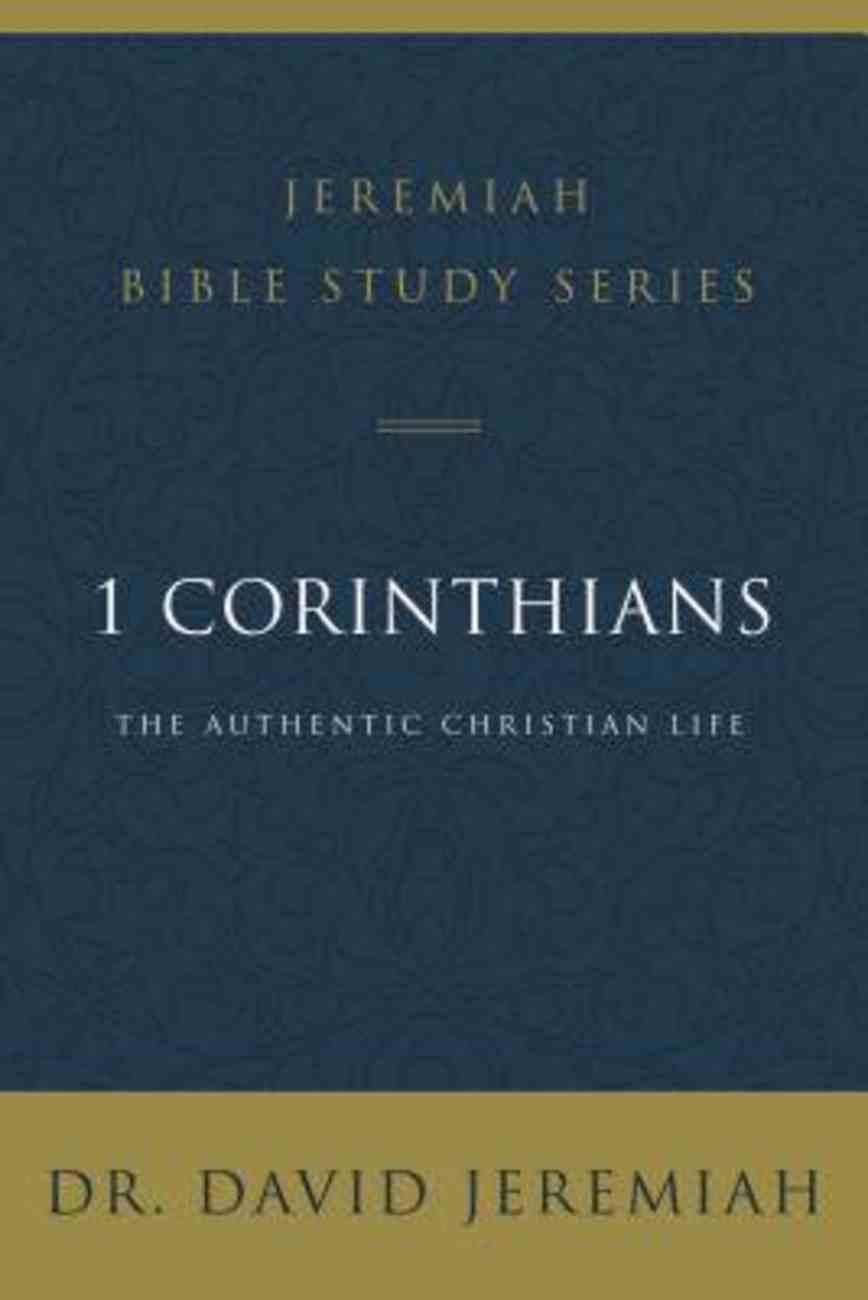 1 Corinthians (David Jeremiah Bible Study Series) eBook