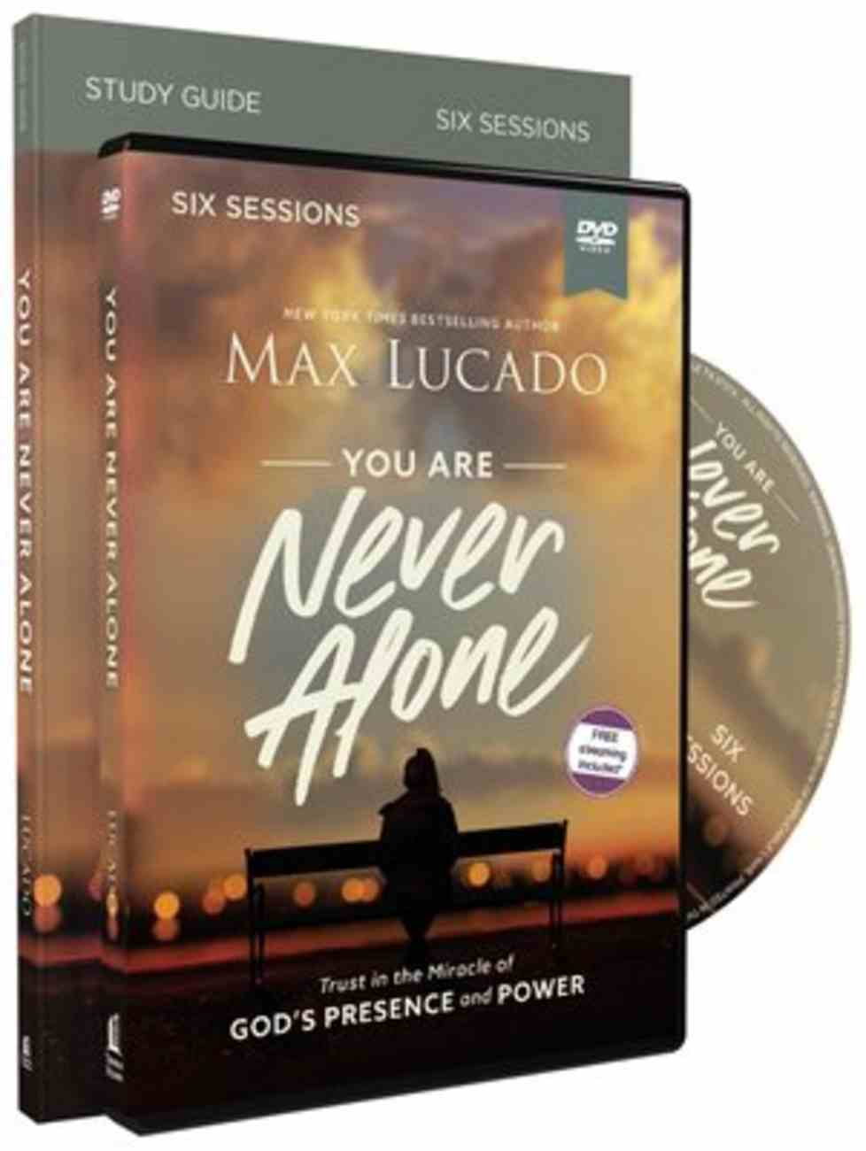 You Are Never Alone: Trust in the Miracle of God's Presence and Power (Study Guide With Dvd) Pack