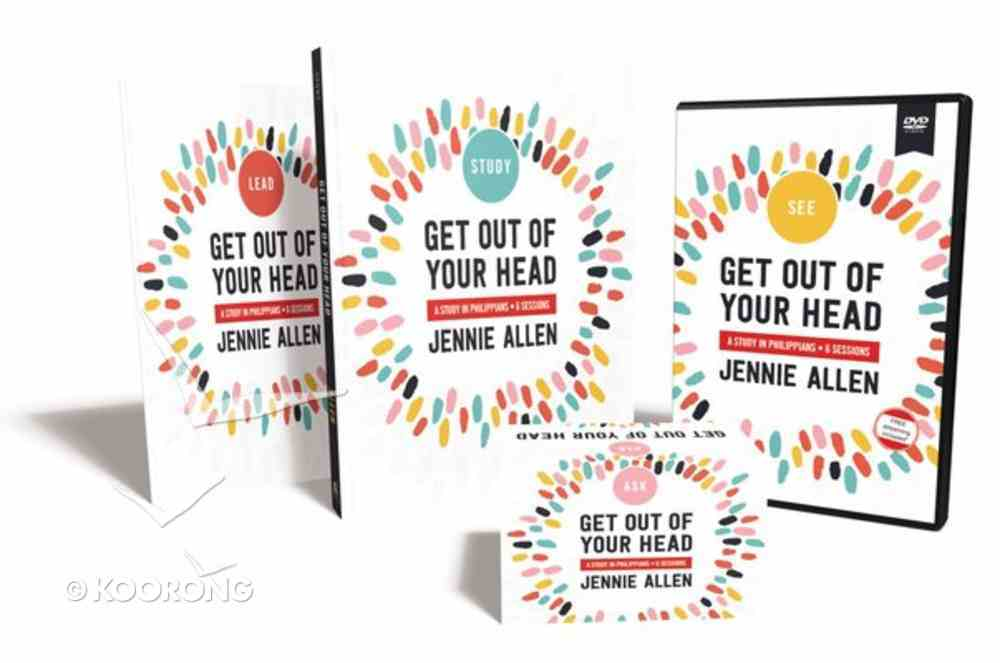 Get Out of Your Head: A Study in Pilippians (Curriculum Kit) Pack