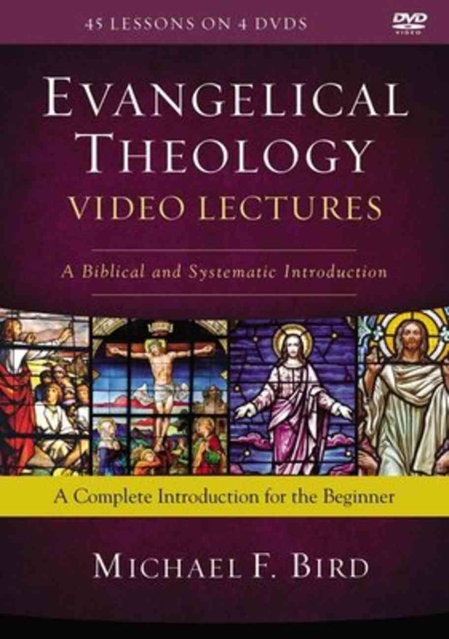 Evangelical Theology : A Biblical and Systematic Introduction (Video Lectures) (Zondervan Academic Course Dvd Study Series) DVD
