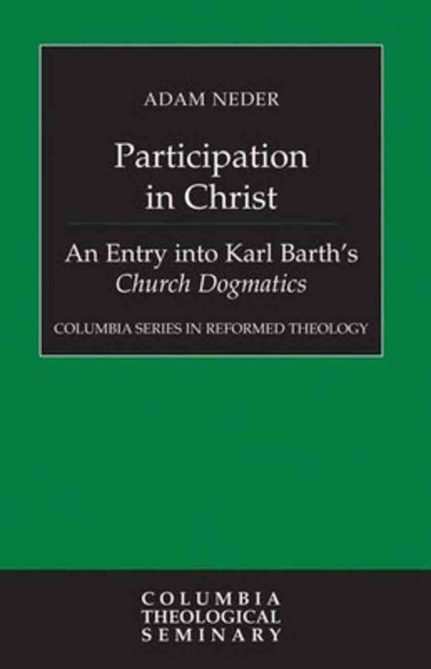 Participation in Christ Hardback