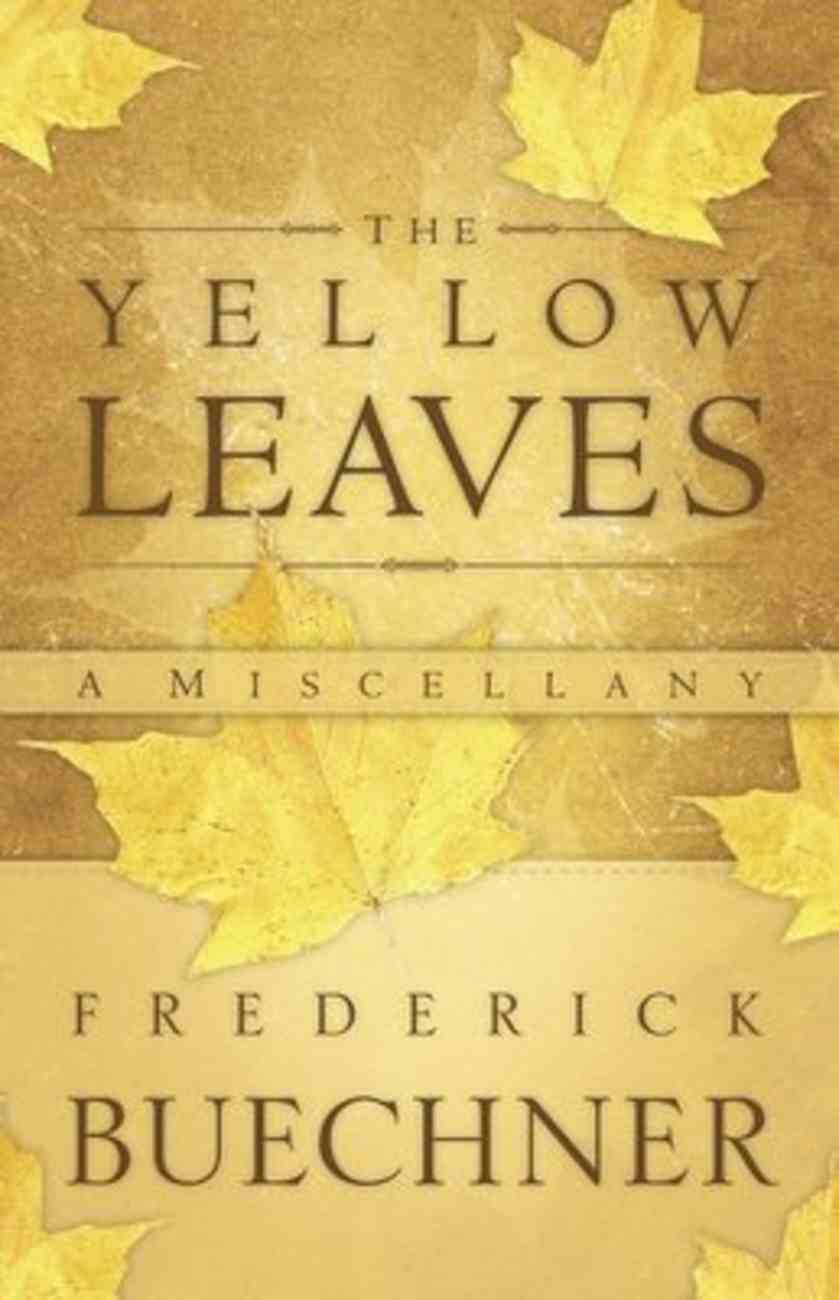 The Yellow Leaves Paperback