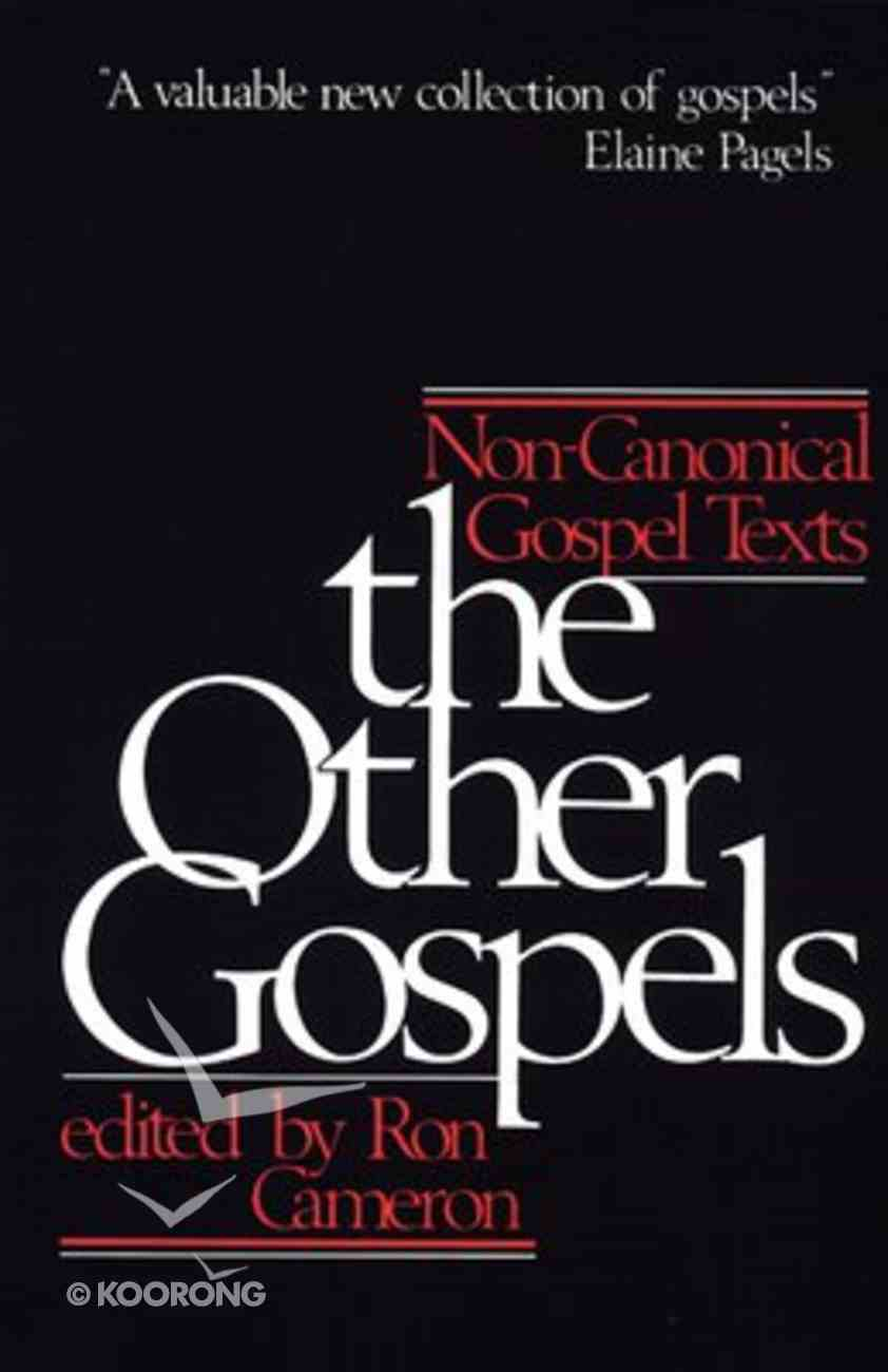 The Other Gospels Paperback