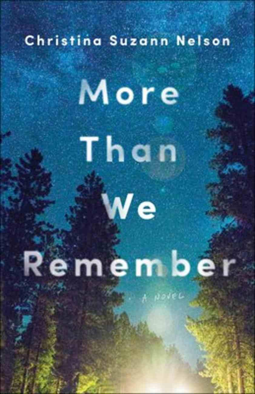 More Than We Remember Paperback