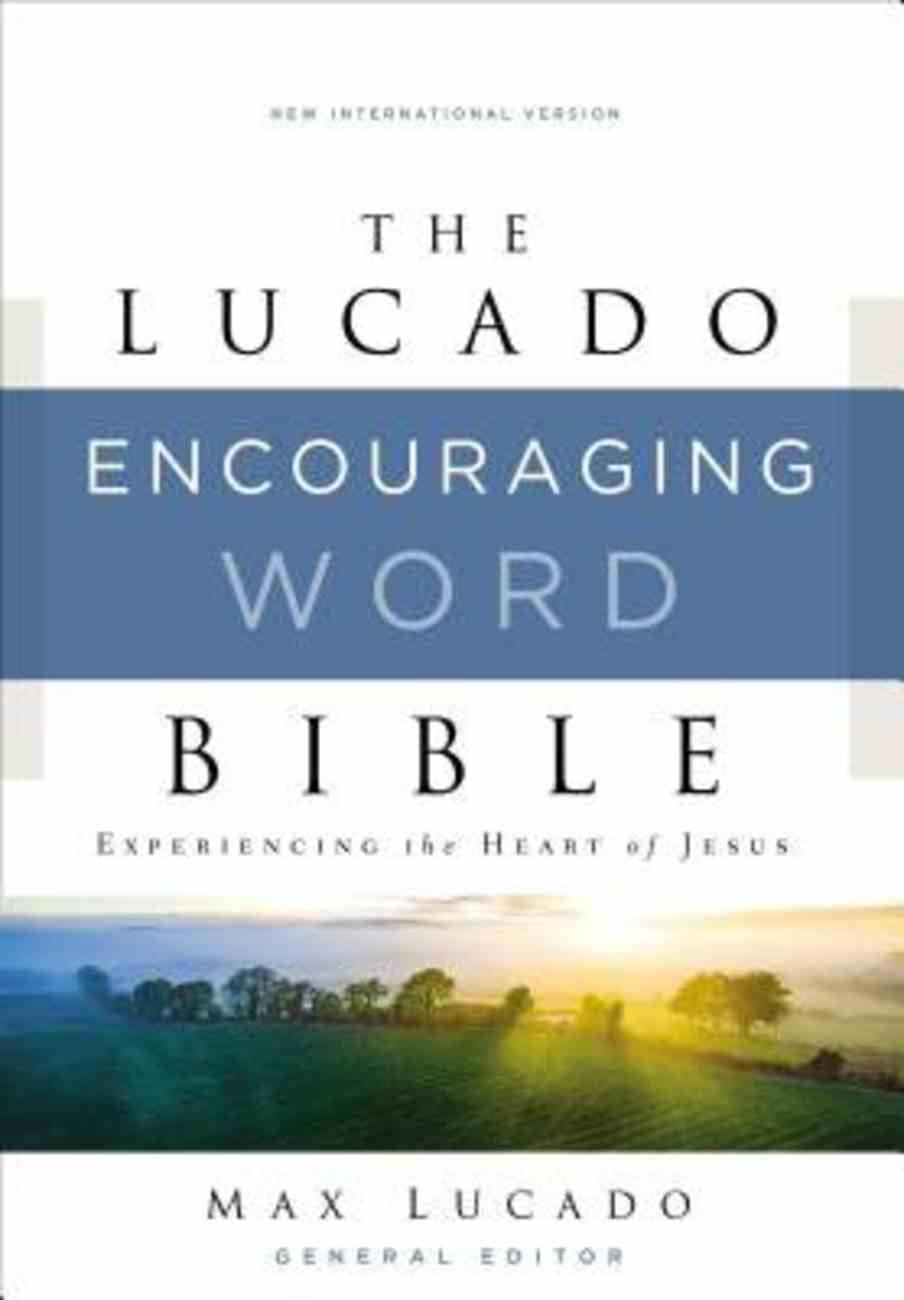 NIV, Lucado Encouraging Word Bible, Ebook eBook
