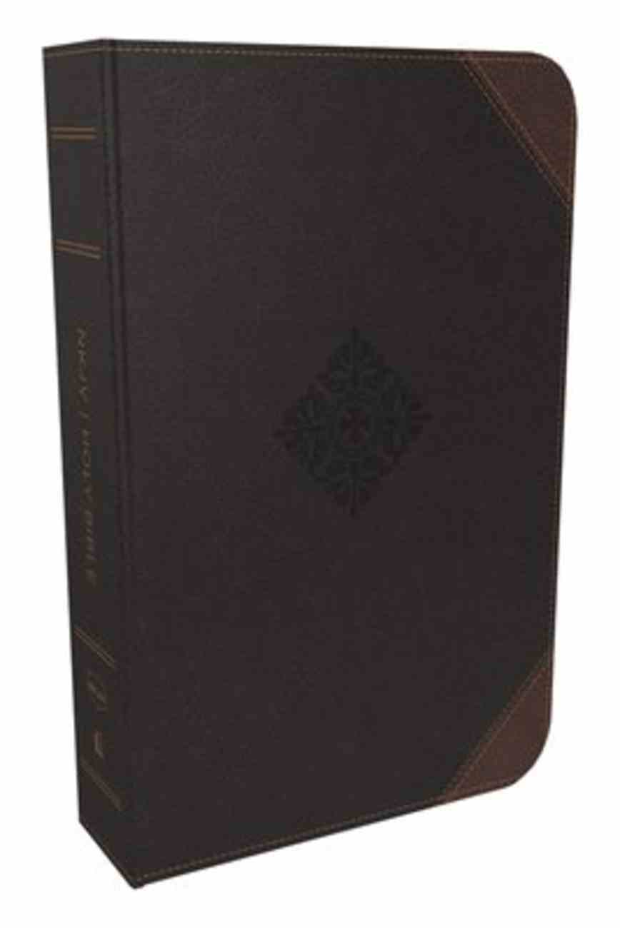 NKJV Deluxe Reader's Bible Black (Black Letter Edition) Imitation Leather