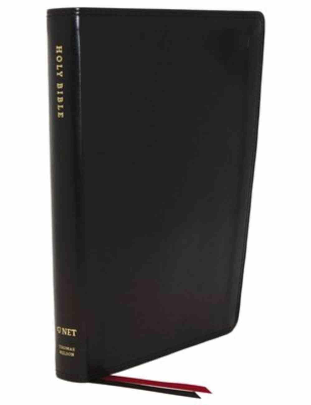 NET Bible Thinline Black Premium Imitation Leather