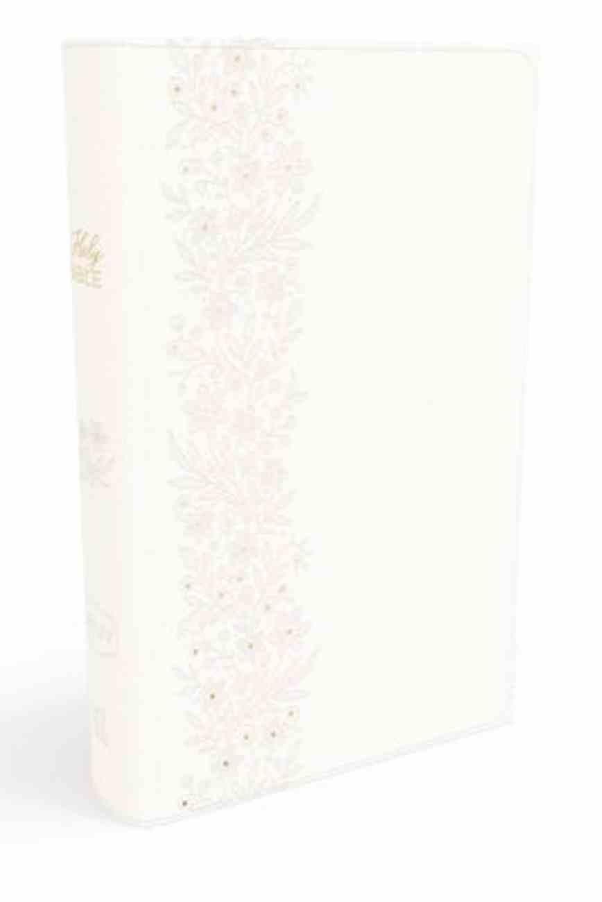 NKJV Bride's Bible White (Red Letter Edition) Premium Imitation Leather