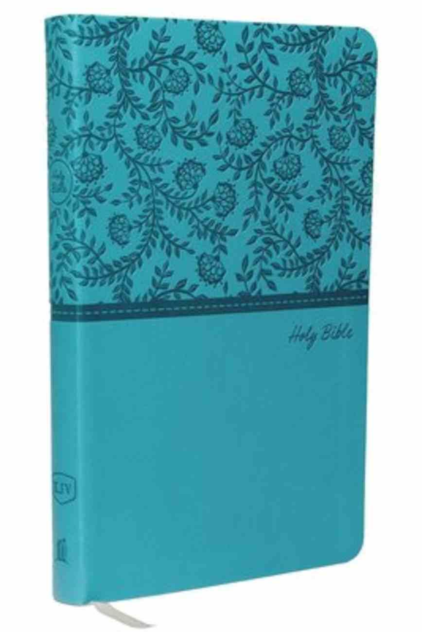 KJV Value Thinline Bible Green (Red Letter Edition) Premium Imitation Leather