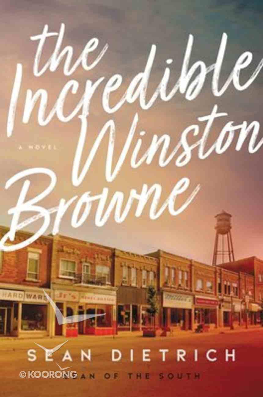 The Incredible Winston Browne Hardback