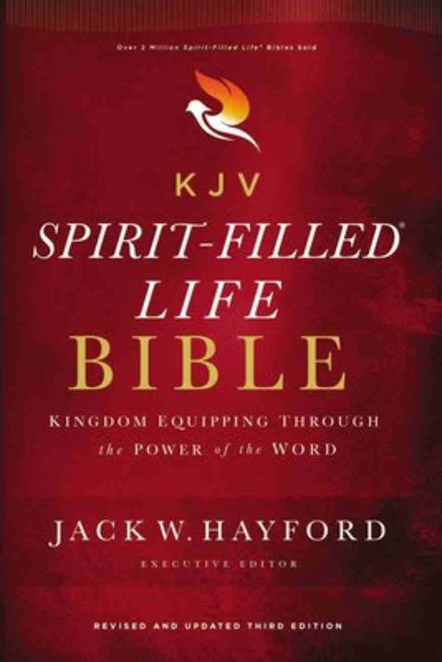 KJV, Spirit-Filled Life Bible, Third Edition, Ebook (Red Letter Edition) eBook