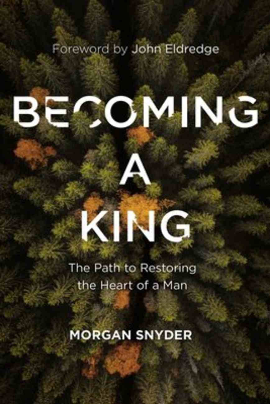 Becoming a King: The Path to Restoring the Heart of a Man Paperback