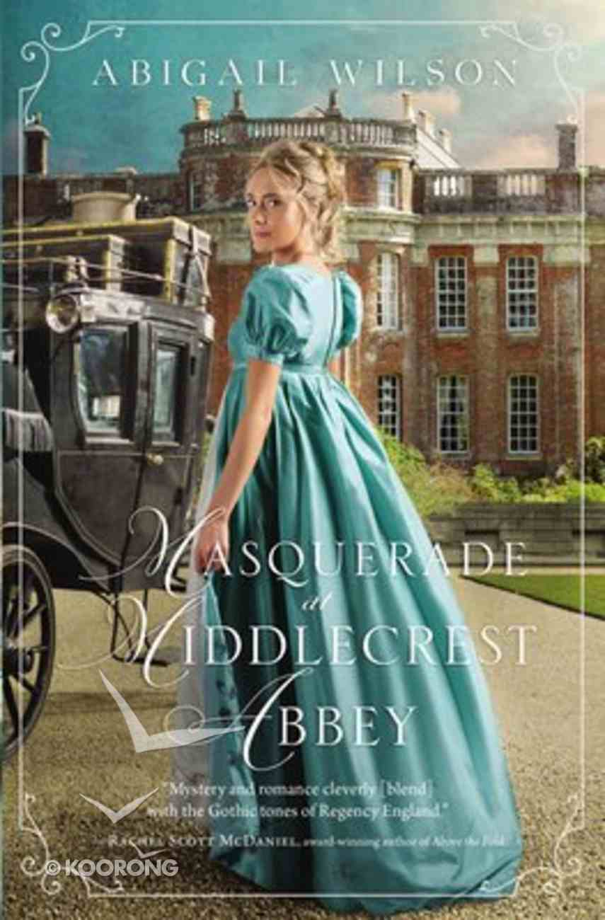 Masquerade At Middlecrest Abbey Paperback