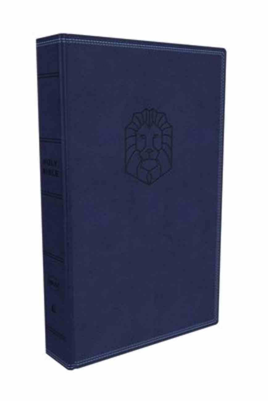 NKJV Holy Bible For Kids Blue Premium Imitation Leather
