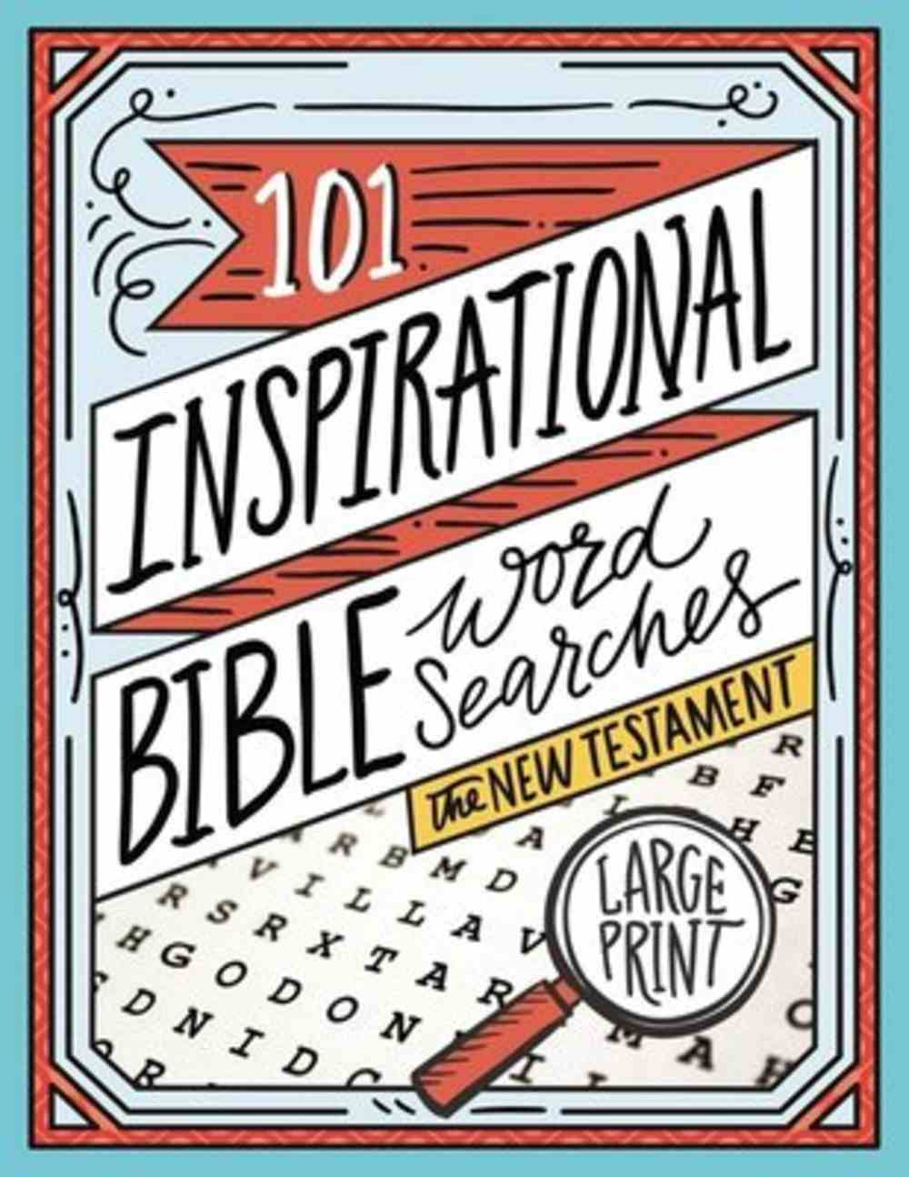 101 Inspirational Bible Word Searches Paperback