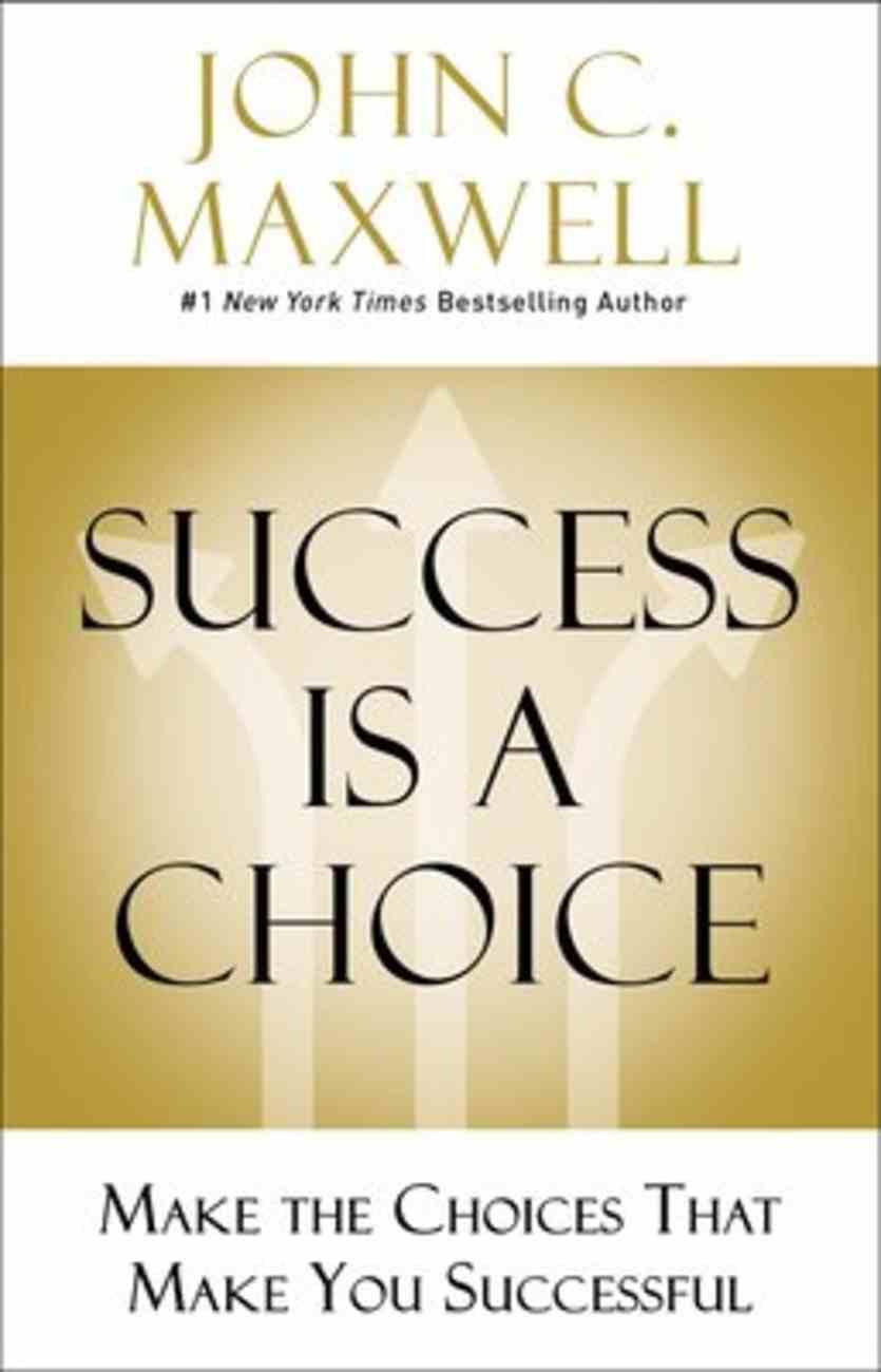 Success is a Choice eBook