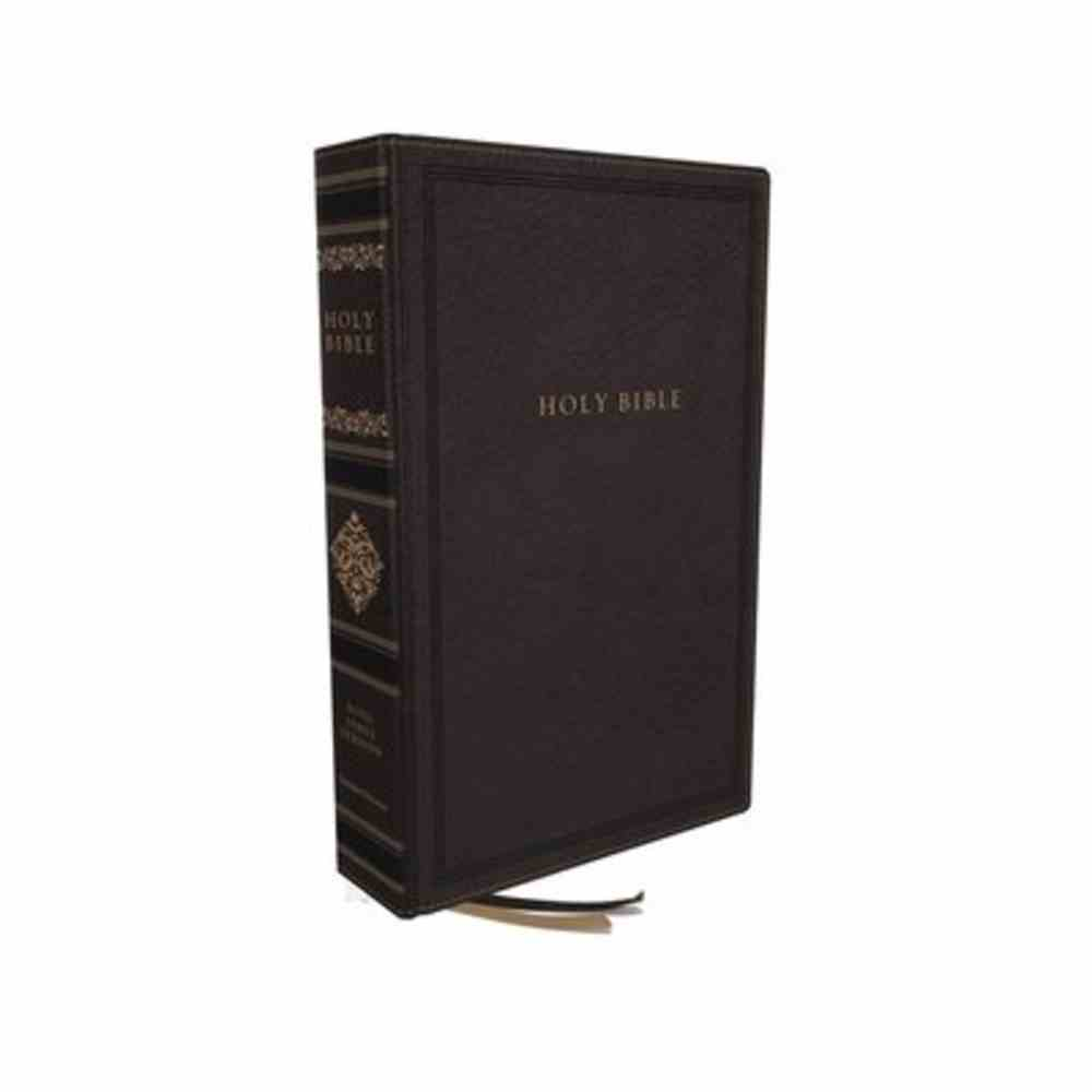 KJV Sovereign Collection Bible Personal Size Black (Red Letter Edition) Premium Imitation Leather
