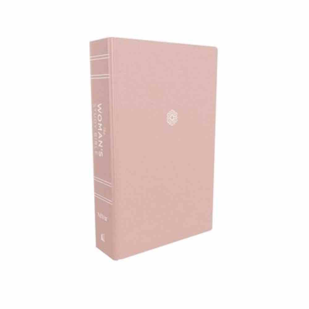 NIV Woman's Study Bible Pink Thumb Indexed Fabric Over Hardback