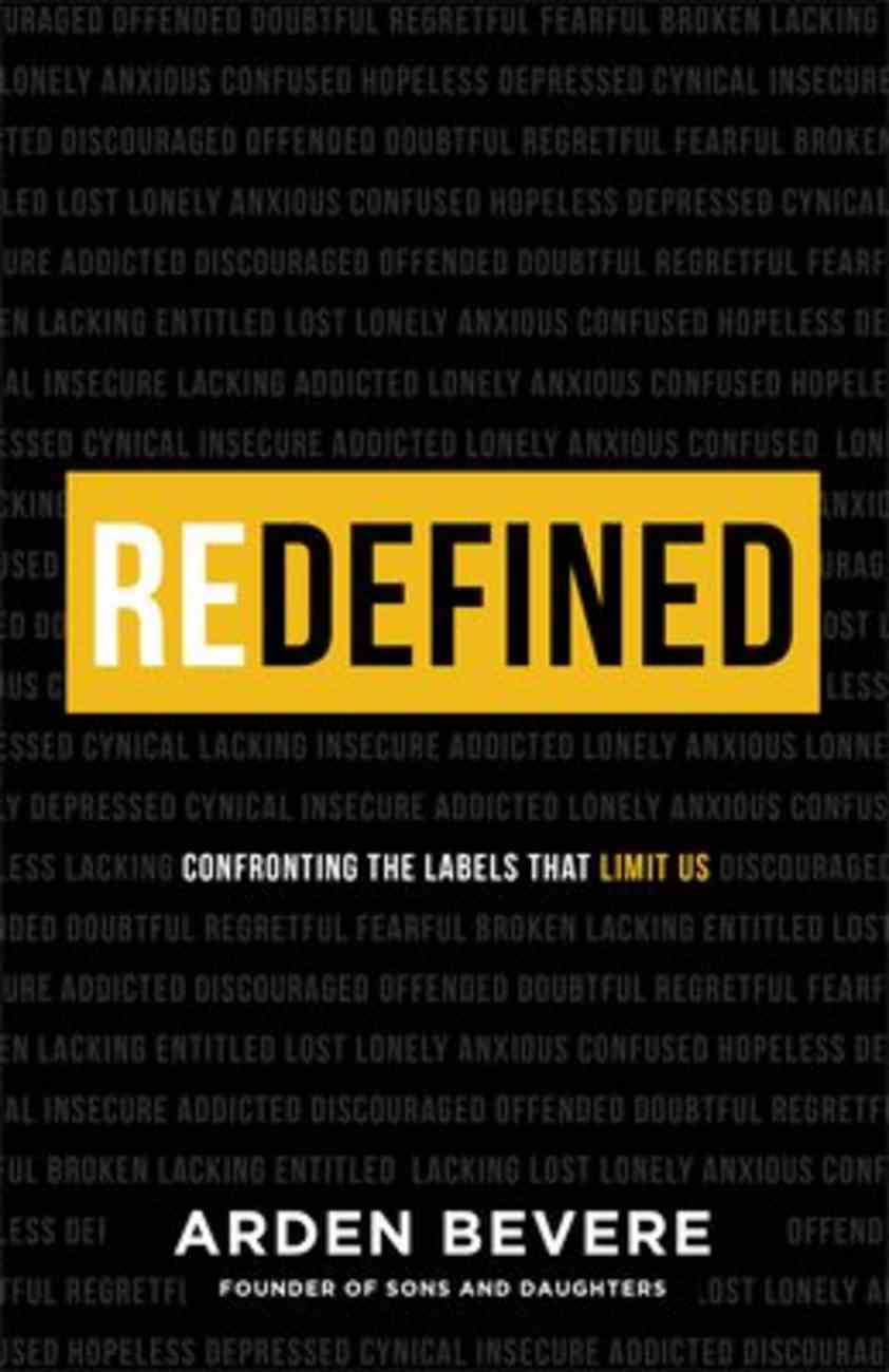Redefined: Confronting the Labels That Limit Us Paperback