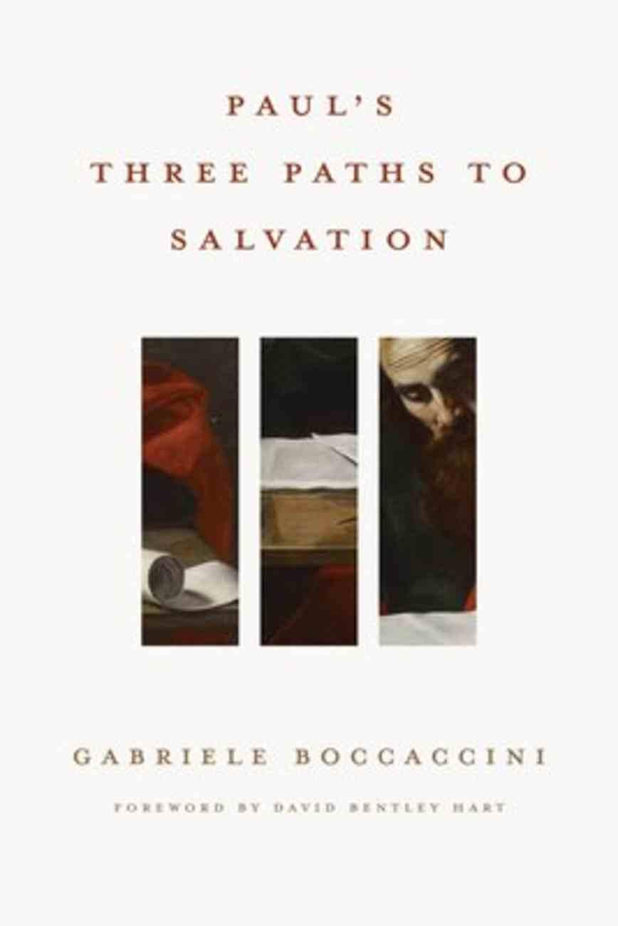 Paul's Three Paths to Salvation Hardback