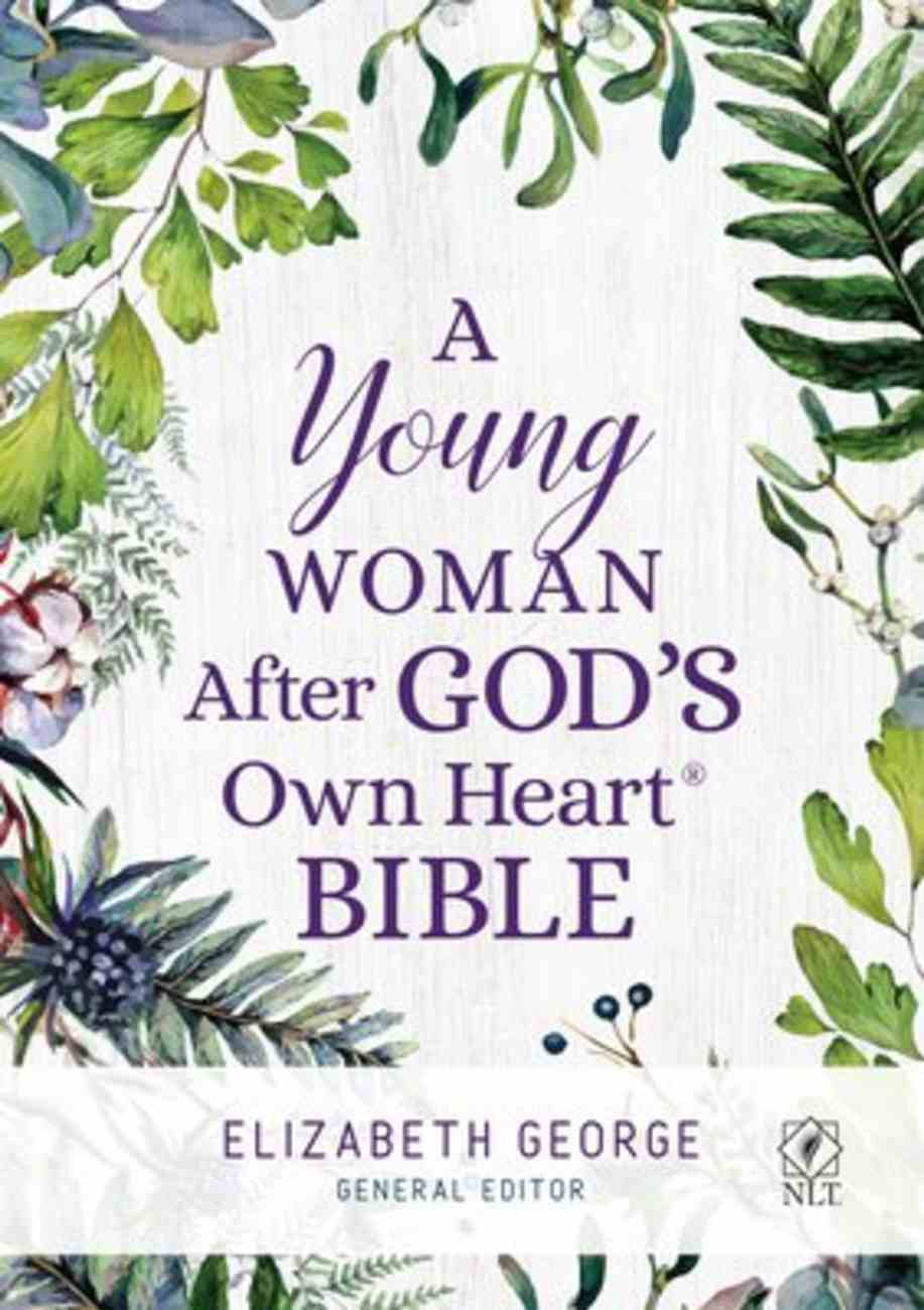A NLT Young Woman After God's Own Heart Bible Hardback
