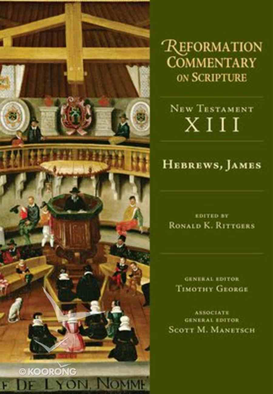 Refcs: Hebrews, James Hardback