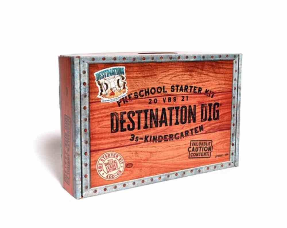 Vbs 2021 Destination Dig: Preschool Starter Kit With Digital Leader Guides Add-On Pack