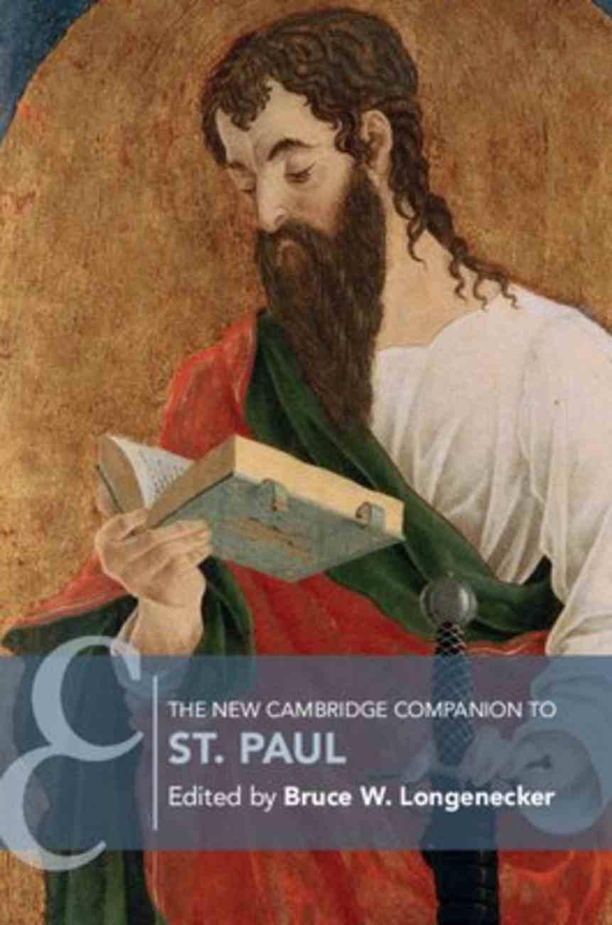 The New Cambridge Companion to St Paul Paperback