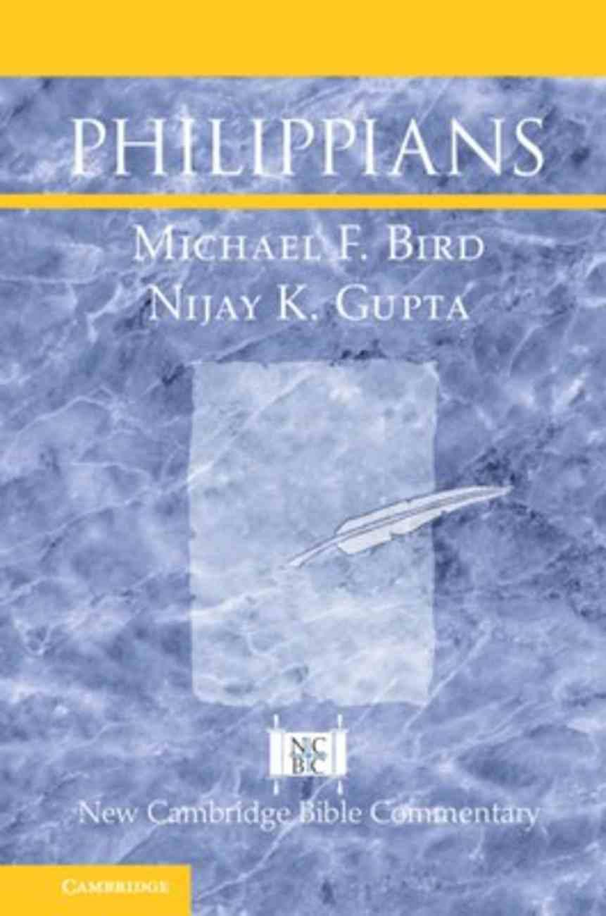 Philippians (New Cambridge Bible Commentary Series) Hardback