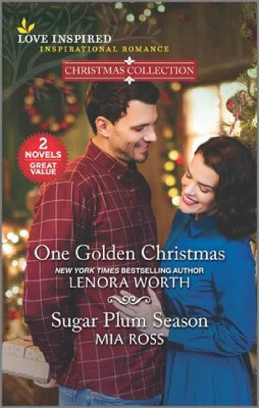 One Golden Christmas/Sugar Plum Season (Christmas Collection) (Love Inspired 2 Books In 1 Series) Mass Market