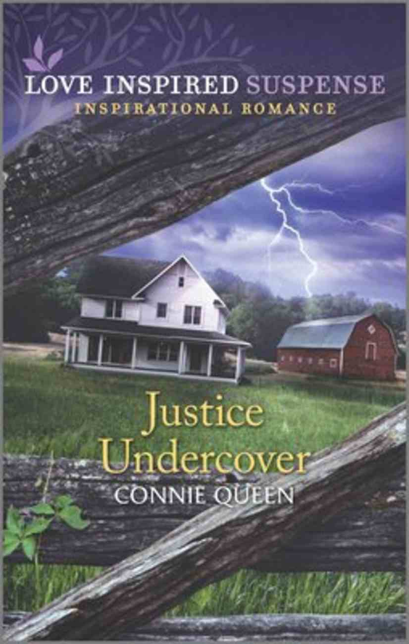 Justice Undercover (Love Inspired Suspense Series) Mass Market